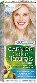 Garnier Color Naturals, 1001 Ashy Ultra Blond Permanent Hair Color, 100 ml