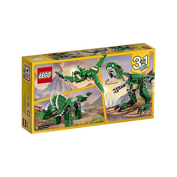 LEGO31058CreatorGrandesDinosaurios3en1JuguetedeConstrucciónparaNiñosyNiñas+7años