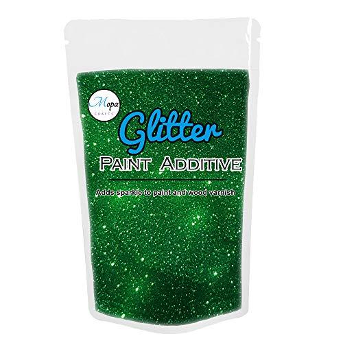 Glitzer für Emulsionsfarbe Additiv Fugenmasse 100g waldgrün