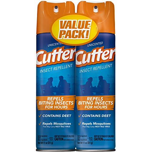 Unscented Cutter Insect Repellent (Aerosol) (HG-26183) (11 oz)