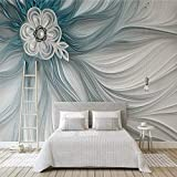 Tapete Moderne Mode Geprägte Streifen Linien 3D Wandbild Tapeten Für Wohnzimmer Tv Hintergrund Home Decor Wandtuch,260X180Cm (102,36X70,87 In)