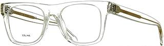 CL50018I - 039 ACETATE Eyeglass Frame Clear/Transparent 51mm