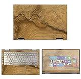 Decalrus - Protective Decal Wood Burl Skin Sticker for Lenovo Yoga C740 (14' Screen) case Cover wrap LEyogaC740_14-172