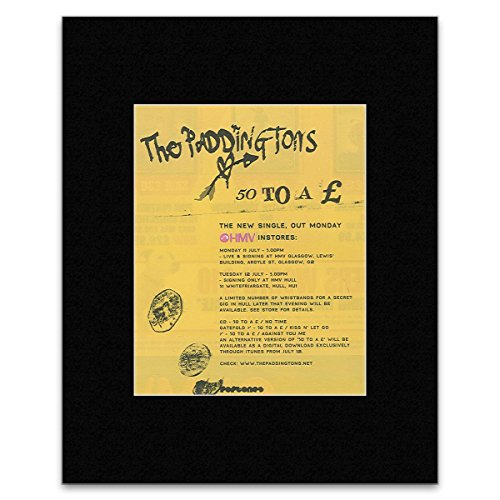 PADDINGTONS - 50 To A Matted Mini Poster - 13.5x10cm