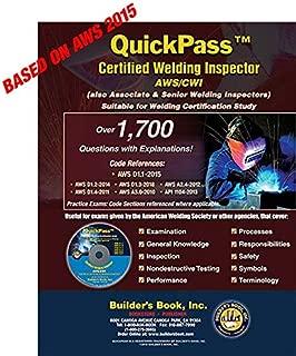 QuickPass Certified Welding Inspector AWS/CWI Study Guide - 2015 AWS D1.1