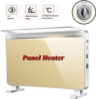 Panel calefactor 2200W montado en la pared del calentador eléctrico o libre de pie, con termostato Modo Eco friendly Calefacción Tres tipos de modos de diseño a prueba de agua, grado de la energía: A