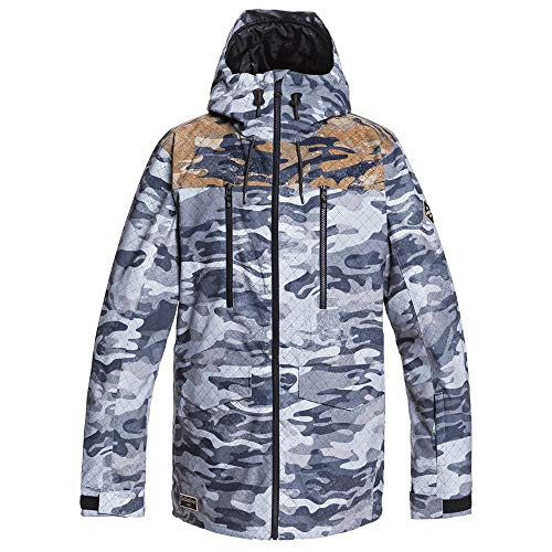 Quiksilver Snow Fairbanks Jacket True Black GPS Point XL