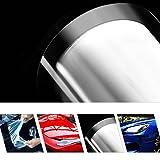 HOHOFILM Pellicola protettiva autoadesiva PPF antigraffio auto auto auto vinile trasparente trasparente pellicola 152 cm x 50 cm