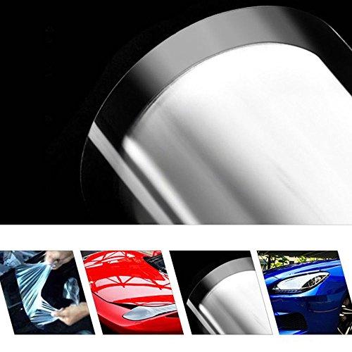 HOHOFILM Lackschutzfolie, selbstheilend, PPF, kratzfest, Auto-Vinylfolie, glänzend, klare Folien, 152 x 50 cm