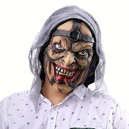 Mscara masculina de proxeneta de Halloween, para Halloween, noche de carnaval, juego de roles, fiesta de baile de disfraces, festival de fantasmas