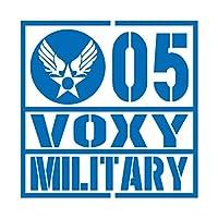 ミリタリー VOXY ヴォクシー カッティング ステッカー ブルー 青