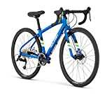 Raleigh Bikes Raleigh Rx24 Youth Road Bike, 24' Wheel, Blue, 24' / One Size