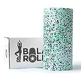 Balance Roll Tricolor Faszienrolle incl. Anleitung mit Übungsbeispielen (Härtegrad Mittel =...