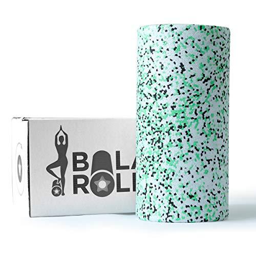 Balance Roll Faszienrolle (Modell 2020) inkl. Anleitung mit Übungsbeispielen (Härtegrad Standard) Faszien Rolle zur Selbstmassage (Tricolor)