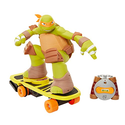 Teenage Mutant Ninja Turtles Mikey aus Skateboard, Spielzeug mit Fernbedienung