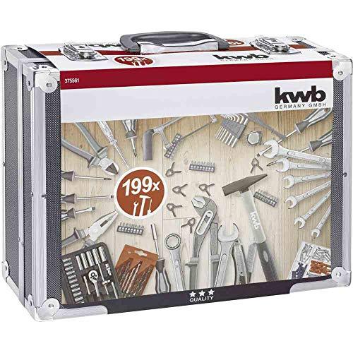 KWB Werkzeugkoffer 199-teilig
