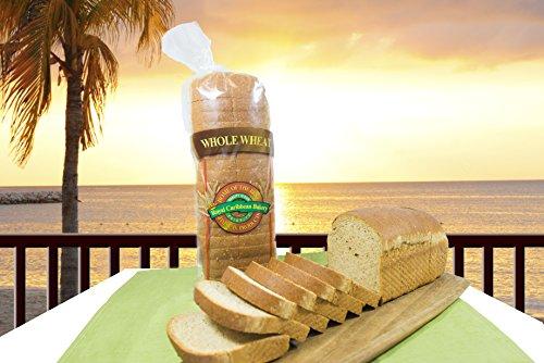 Jamaican Style Whole Wheat Hard Dough Bread (Small 22 Oz)