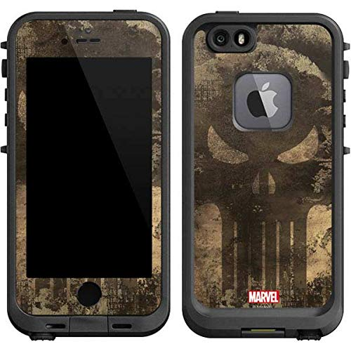 Skinit Decal Skin Compatible with LifeProof fre iPhone 6/6s - Officially Licensed Marvel/Disney Punisher Skull Design