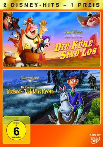 Die Kühe sind los / Die Abenteuer von Ichabod und Taddäus Kröte [2 DVDs]