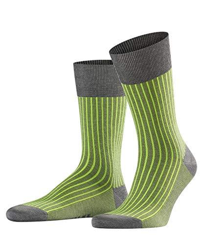 FALKE Herren Oxford Neon M SO Socken, 13396, Grau (Steel Melange 3165), 45-46 (UK 10-11 Ι US 11-12)