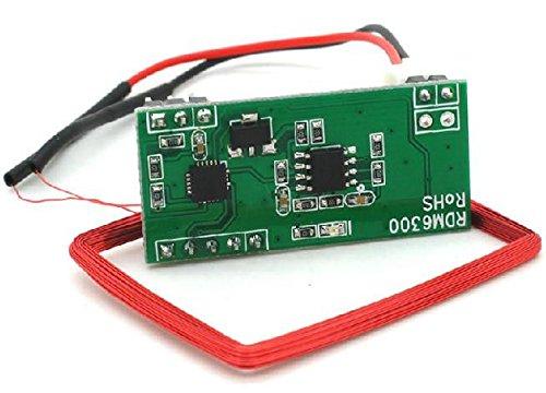 Exiron 125 KHZ EM4100 RFID card read module RDM630 (UART) compatible Arduino