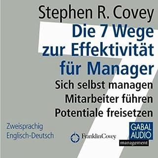 Die 7 Wege zur Effektivität für Manager Titelbild