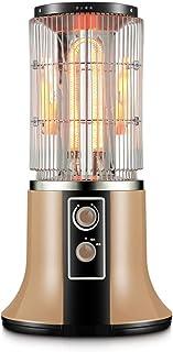 Radiador eléctrico MAHZONG Calentador de calefacción infrarrojo lejano, Calentador eléctrico de Ahorro de energía en el hogar, Tostado a Temperatura Constante Vertical