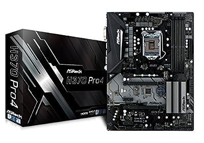 ASROCK Intel H370Chip Set ATX Motherboard H370Pro4