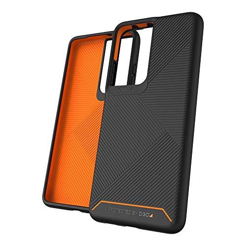Gear4 Denali 702007301 Schutzhülle für Samsung Galaxy S21 Ultra 5G, Schwarz