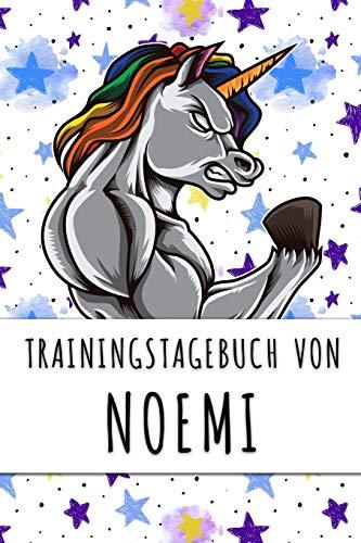 Trainingstagebuch von Noemi: Personalisierter Tagesplaner für dein Fitness- und Krafttraining im Fitnessstudio oder Zuhause