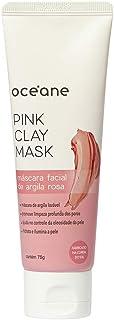 Pink Clay Mask-Máscara Facial Argila Rosa./Unica, Océane