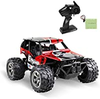 infinitoo Remote Control Car, High Speed Off-Road Vehicle 1:18, Auto 12km/h 2.4GHz, Electric Racing Car Toys, RC Buggy...