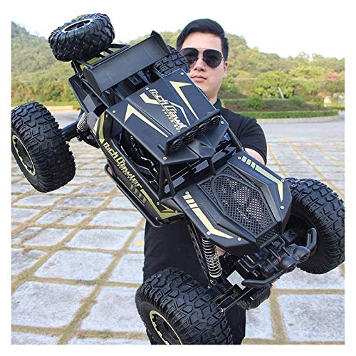 WYFX Outdoor-Spielzeug Große RC-gesteuerte Schwermetallbagger Monster Truck 4WD Ferngesteuerte Schwermetallbagger...