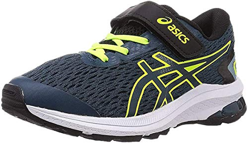 ASICS Gt-1000 9 PS, Sneaker, Magnetic Blue/Safety Yellow, 31.5 EU