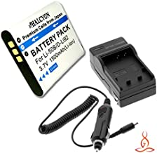 Halcyon 1500 mAH Lithium Ion Replacement Battery and Charger Kit for Olympus SZ-12 14 Megapixels Digital Camera and olympus LI-50B
