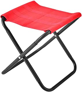 Folding Camping Stool, Portable Chair Seat with Carry Stool Lightweight Barbecue Folding Stool Outdoor Camp Hiking Picnic ...