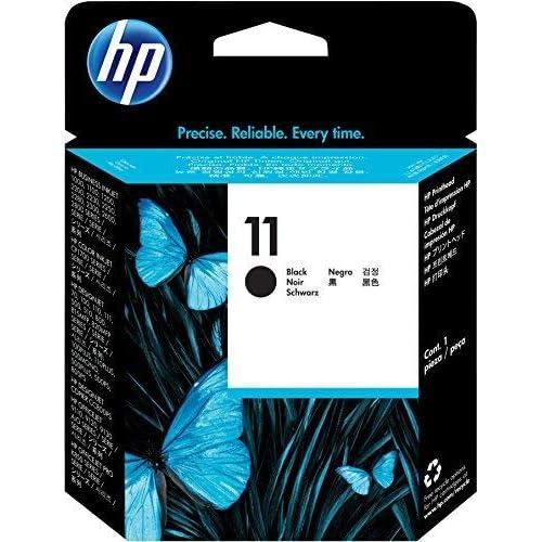 HP 11 (C4810A) Testina di stampa HP a Getto di Inchiostro, Compatibile con HP 2500cm, Business Inkjet 3000dtn, Designjet 815 e 820 MFP, Designjet Serie 500 e 500 Plus, Nero