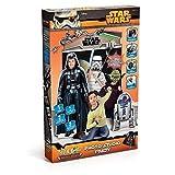 Lively Moments Star Wars Photo mit Darth Vader Pappaufsteller Studio Party mit Selfie Stick /...