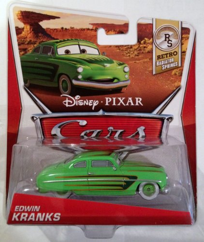Disney Pixar Cars Edwin Kranks (Retro Radiator Springs, #7 of 8) - Voiture Miniature Echelle 1:55