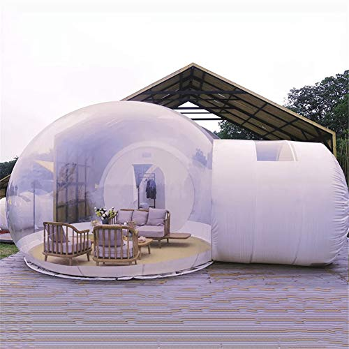 ZYJFP DIY Inflatable Bubble Tent,Garden Igloo Geodesic Dome Kit Transparent Tent Bubble House With Blower And Repair Kit,Can be Customized According to Customer Needs Star Villa