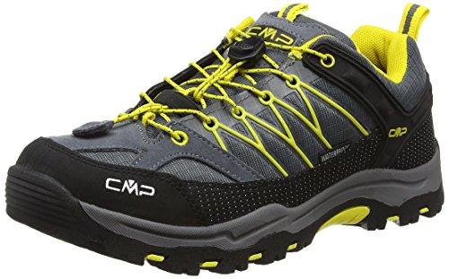 CMP Rigel - Scarpe da trekking e da passeggiata Bambino, Grigio (Grau (Grey U862)), 32 EU