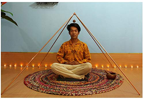 Copper Giza 5 Feet Meditation Pyramid (Foldable)