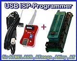 Diamex Sparset- USB ISP-Programmer + Adapter für ATMEL AVR RISC DIL Controller