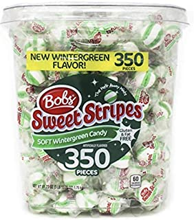 Bobs Sweet Stripes Mint Candy, Wintergreen, 61.73 Ounce