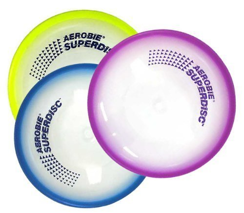 Aerobie Superdisc, 10 inch Diameter, Made in USA, Pack of 3