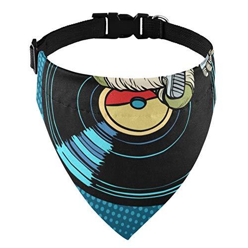 JEOLVP Astronauta Hombre Meditando Música Yoga Perro Collar de martingala Perro Collar de Perro Martingala Gato Mascota Collar de martingala Accesorios de Disfraces para Mascotas para Perros B