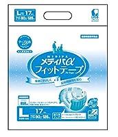 近澤製紙 チカザワ メディパαフィットテープ L17 1ケース(4袋)セット売り