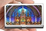 Titular de la tarjeta del nombre del negocio, Basílica de Notre Dame de la fe de la creencia en el titular de la tarjeta del acero inoxidable de la continuación del alma de Montreal