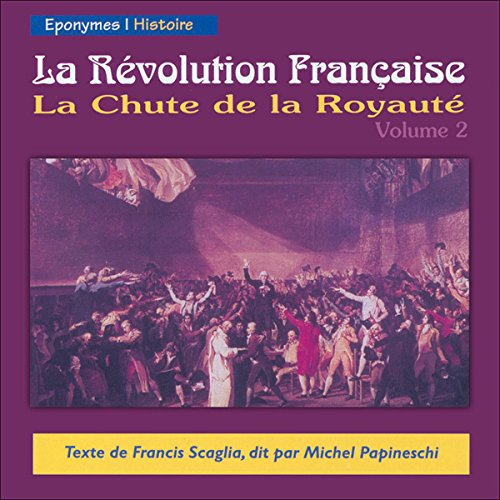 La Chute de la Royauté audiobook cover art