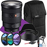 This Sony FE 24-70mm f/2.8 GM International Model Lens Kit Includes Manufacturer Supplied Accessories And a One Year Seller Warranty. SONY EMOUNT LENS: 35mm full frame format, instant auto / manual focus selection, focus hold button. The minimum focu...